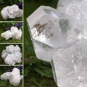 UNEARTHED TREASURE AAA Grade Apophyllite Cluster #2