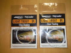 Airflo Floating Polyleaders light trout