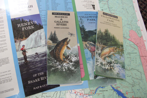 american adventures maps Arricks Fly Shop