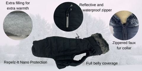hemlock puffy puffer jacket coat