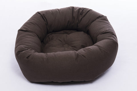dog bed, donut bed for dogs, round beds, repelzit, repelz-it, nano technology, nano treatment, Espresso