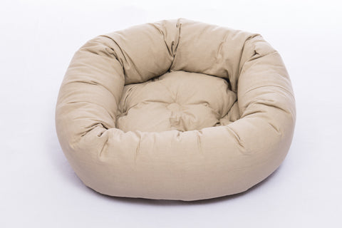 dog bed, donut bed for dogs, round beds, repelzit, repelz-it, nano technology, nano treatment, Sand