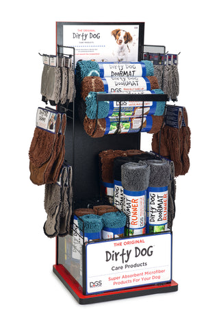 Dirty Dog Multi Product Display