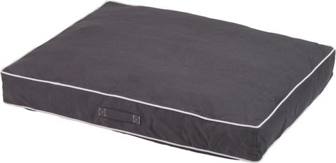 dog beds, rectangle beds, chamber design, repelzit, repelz-it, nano treatment, Pebble Grey, , nano technology
