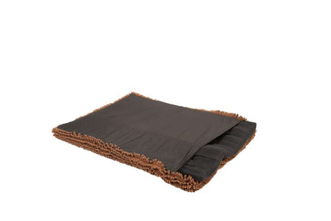 dirty dog cushion, dirty dog pad, dog pad, brown travel pad, removal insert, water resistant liner, waterproof liner