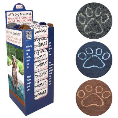 Dirty Dog Doormat Shipper Displays