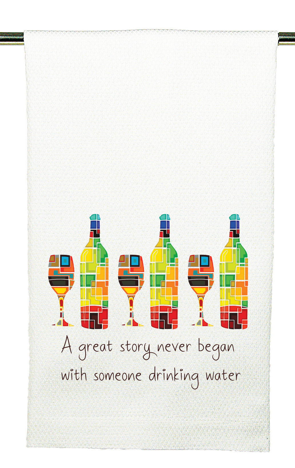 Huck Towel by Mariasch Studios: A Great Story Never Began With Water