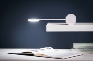 OCTAGON ONE DESK LAMP by Gingko - WHITE