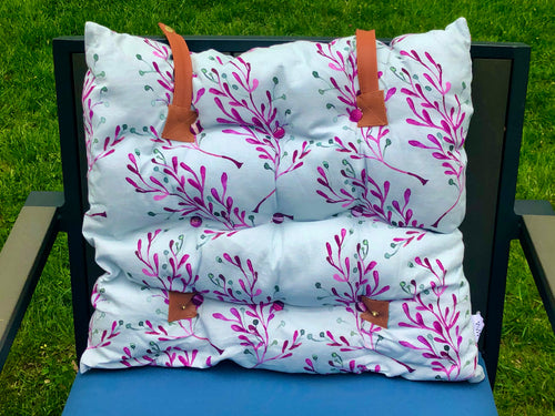 Multi-Purpose Cushion - 112 Grey/Pink