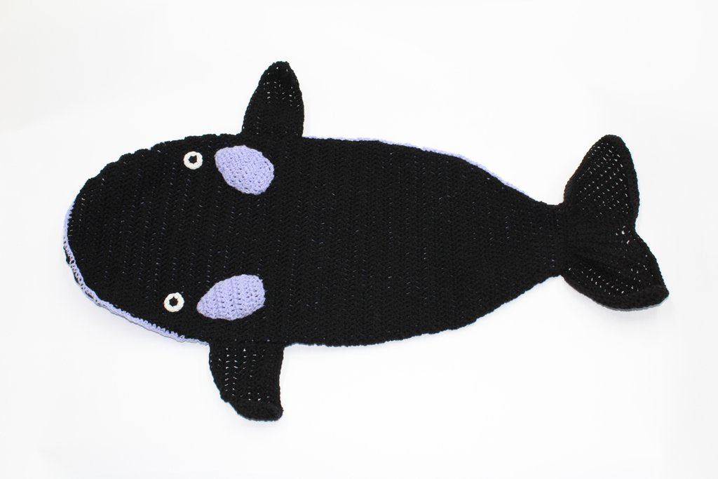 Whale (Orca) Snuggly by Silk Road Bazaar