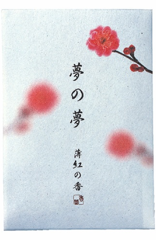Japanese Incense Nippon Kodo YUME-NO-YUME (The Dream of Dreams) - Spring - PLUM FLOWER