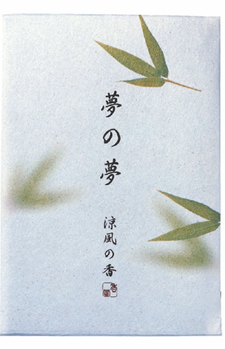 Japanese Incense Nippon Kodo YUME-NO-YUME (The Dream of Dreams) - Summer - Bamboo Leaf