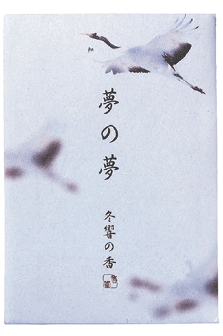 Japanese Incense Nippon Kodo YUME-NO-YUME (The Dream of Dreams) - Winter - Whooping Crane