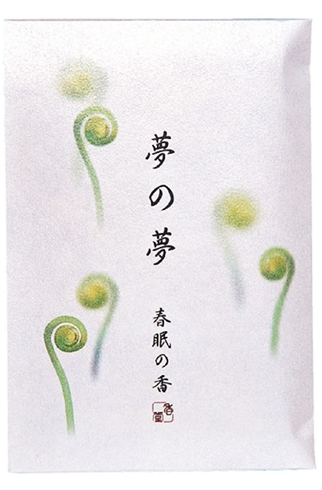 Japanese Incense Nippon Kodo YUME-NO-YUME (The Dream of Dreams) - Spring - Fiddlehead Fern