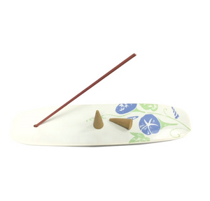 Incense Holder Nippon Kodo - Ceramic Plate - Morning Glory