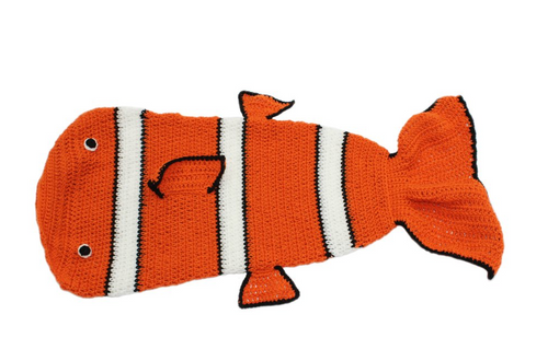 Clownfish Snuggly by Silk Road Bazaar