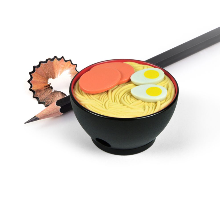 Ramen Doodles Eraser and Sharpener Set - by Fred
