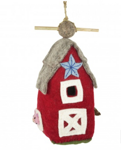 HANDMADE BIRDHOUSE: Country Barn by dZi Handmade Designs