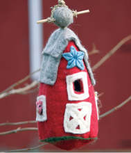 Load image into Gallery viewer, HANDMADE BIRDHOUSE: Country Barn by dZi Handmade Designs