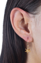 Load image into Gallery viewer, Catherine Weitzman: MINI STAR ANISE EARRINGS in 18K GOLD VERMEIL