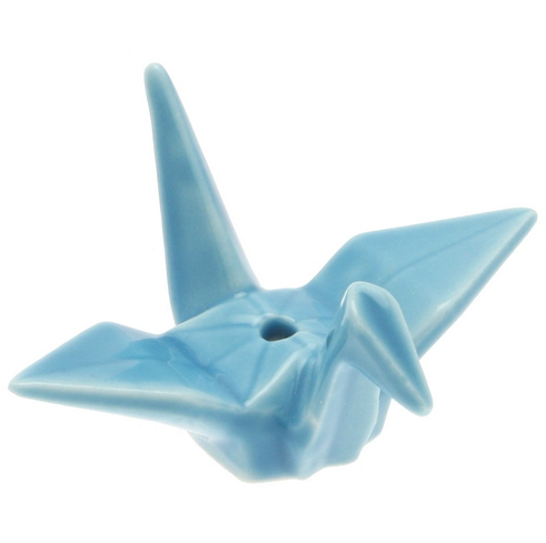Crane Incense Holder Nippon Kodo - Sky Blue