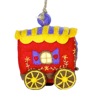 HANDMADE BIRDHOUSE: Gypsy Wagon by dZi Handmade Designs