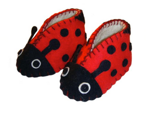 Zooties Infant Shoe -  Ladybug