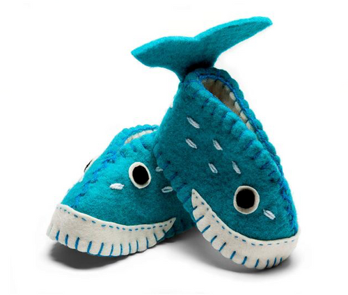 Zooties Infant Shoe -  Whale