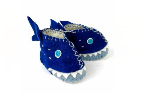 Zooties Infant Shoe -  Shark