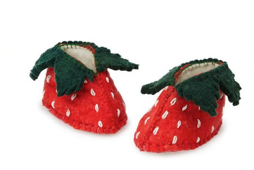 Zooties Infant Shoe -  Strawberry