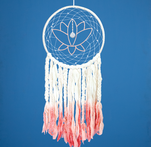 Handmade Dreamcatcher: LOTUS