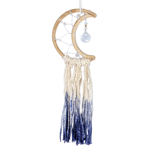 Handmade Dreamcatcher: LITTLE BLUE MOON