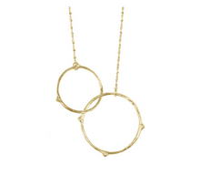 Load image into Gallery viewer, Catherine Weitzman: INTERLOCKING BRANCHES NECKLACE in 18K Gold Vermeil