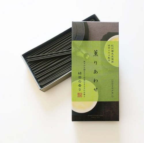 Japanese Incense Aroma Bliss -  Green Tea