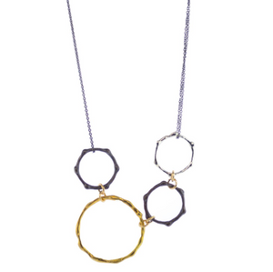 Mabel Chong: MODERN BAMBOO NECKLACE
