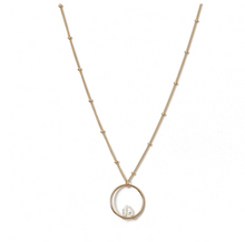 Load image into Gallery viewer, Kozakh: BALAN DIAMOND NECKLACE in 14K GOLD FILLED