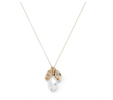 Load image into Gallery viewer, Kozakh: NALA NECKLACE in 14K GOLD FILLED