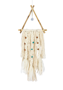 Handmade Dreamcatcher: Little Peacock Teepee