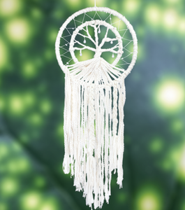 Handmade Dreamcatcher: TREE OF LIFE