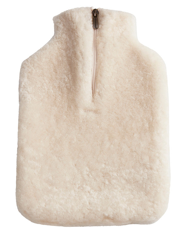 SHEPHERD OF SWEDEN SHEEPSKIN HOT WATER BOTTLE COVER CREAM