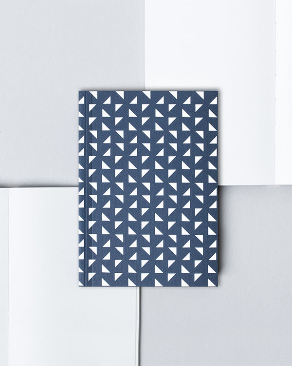 OLA NAVY A6 POCKET NOTEBOOK WITH BLANK PAGES