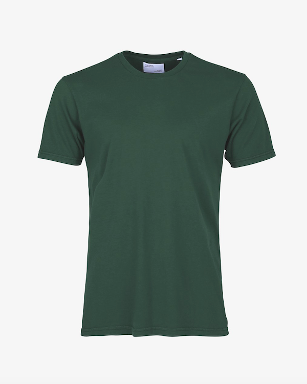 COLORFUL STANDARD MENS ORGANIC T-SHIRT EMERALD GREEN