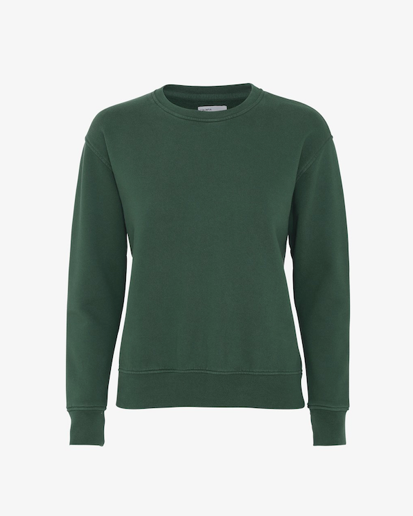 Colorful Standard Ladies Sweatshirt Emerald Green