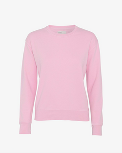 Colorful Standard Ladies Sweatshirt flamingo pink