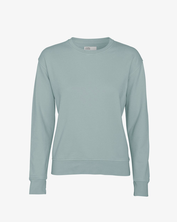 Colorful Standard Women's Sweatshirt Steel Blue