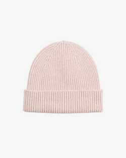 Colorful standard Ivory White unisex beanie