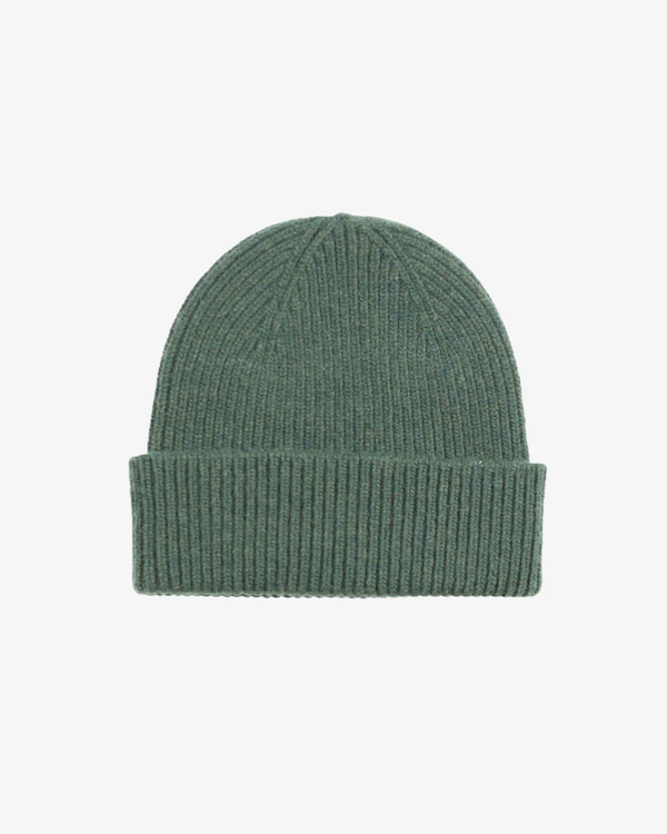 COLORFUL STANDARD UNISEX MERINO WOOL BEANIE - HUNTER GREEN