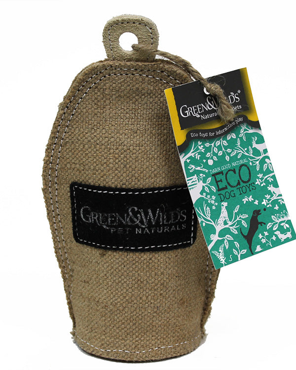 GREEN & WILD'S CRINKLER ECO DOG TOY