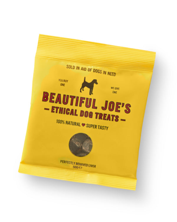 BEAUTIFUL JOE'S ETHICAL LIVER DOG TREATS