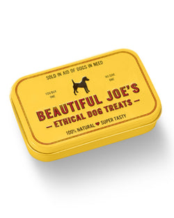 BEAUTIFUL JOE'S ETHICAL DOG TREAT TIN